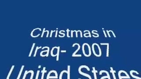 Thumbnail for entry Marine Corp Christmas 2007-Thanks Central Texas!