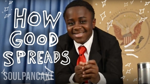 Thumbnail for entry Kid President + Glad to Give present How Good Spreads