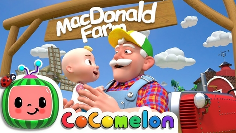 Thumbnail for entry Old MacDonald | CoComelon Nursery Rhymes & Kids Songs