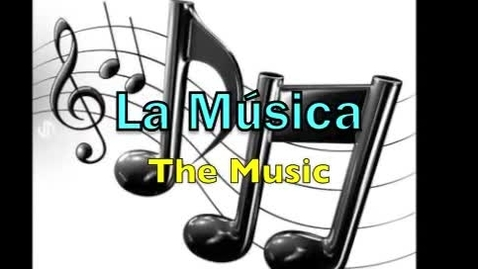 Thumbnail for entry The word of the week- La música
