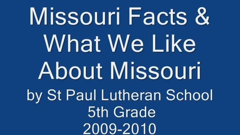 Thumbnail for entry Show-Me Missouri