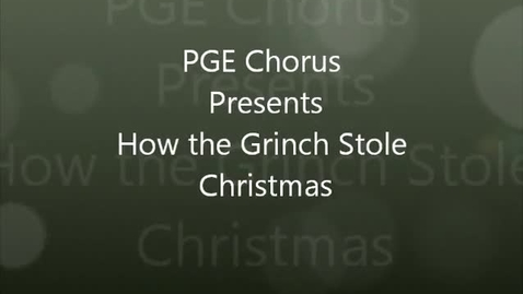 Thumbnail for entry How the Grinch Stole Christmas - PGE