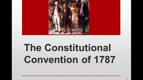 Thumbnail for entry Constitutional Convention Compromises