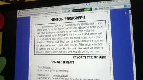Thumbnail for entry Example Paragraphs