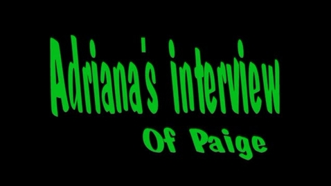 Thumbnail for entry adriana's of paige