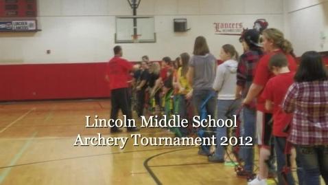 Thumbnail for entry Archery Tournament 2012