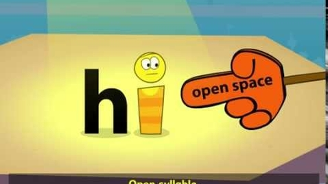 Thumbnail for entry Closed and Open Syllables
