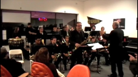 Thumbnail for entry Dreamsville with Greg Abate and RHS Jazz Ensemble