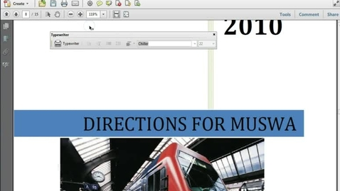 Thumbnail for entry Creating Bookmarks with Acrobat 10