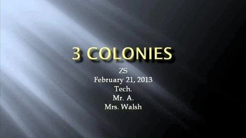 Thumbnail for entry ZS Walsh 13 colonies