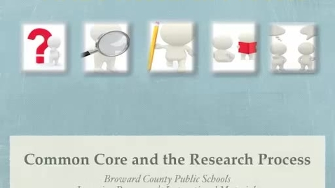 Thumbnail for entry Common Core & FINDS Research (K)