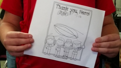 Thumbnail for entry 4th Grade - Thank you, Hero!