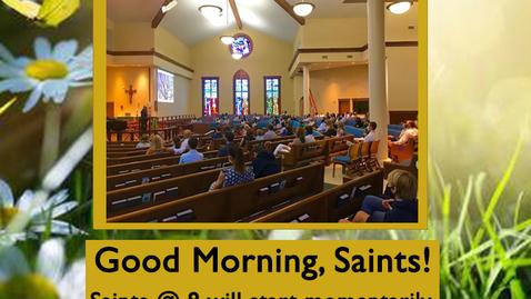 Thumbnail for entry  Saints @ 8 - August 27, 2020