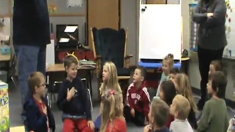 Thumbnail for entry Miss Heitkamp's Class Recites Pledge