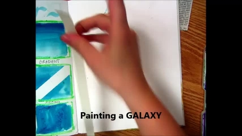 Thumbnail for entry Painting a Galaxy