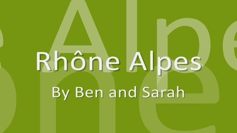 Thumbnail for entry Rhone-Alpes