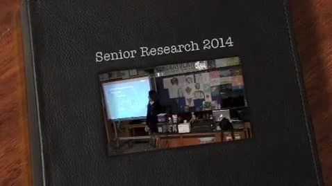 Thumbnail for entry Senior Research Papers 2014