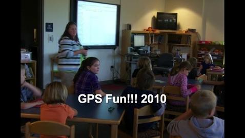 Thumbnail for entry GPS Fun!!!