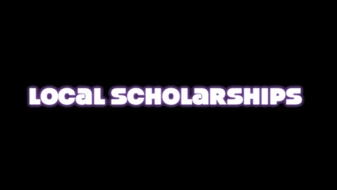 Thumbnail for entry 2013 Local Scholarships