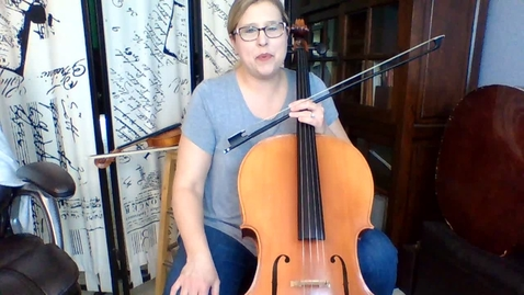 Thumbnail for entry 6th Gr Cello Week 6 STring Basics pg 36-37