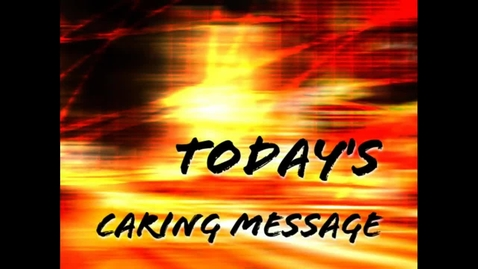Thumbnail for entry Ahmad's Caring Message