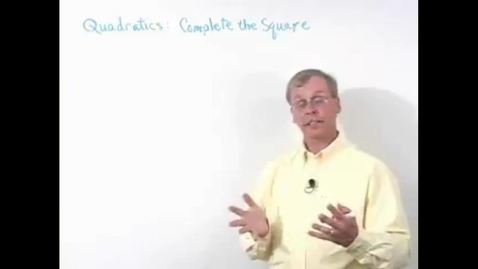 Thumbnail for entry Schiel & Denver School Series - Quadratics Course
