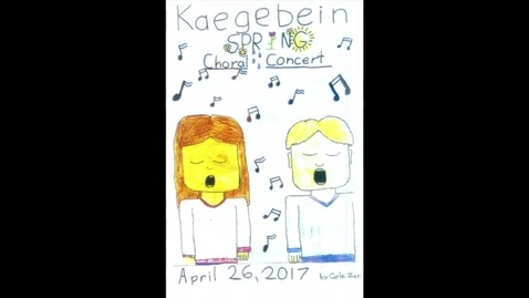 Thumbnail for entry Kaegebein Spring Choral Concert 4-26-2017