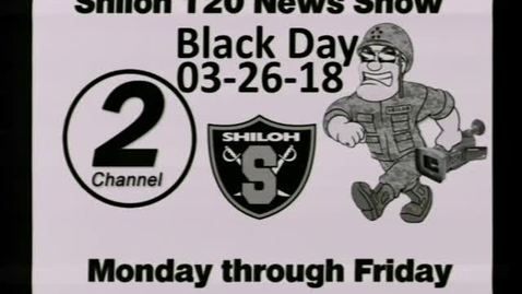 Thumbnail for entry 03-26-18 Shiloh High School News