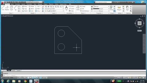 Thumbnail for entry AutoCAD LESSON 4B