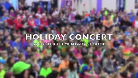 Thumbnail for entry Custer Concert December 19, 2014