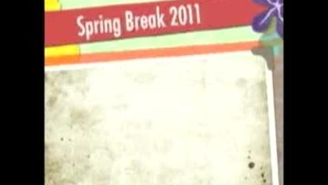 Thumbnail for entry Spring Break