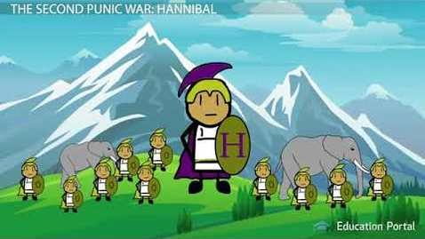 Thumbnail for entry The Punic Wars  Causes, Summary & Hannibal