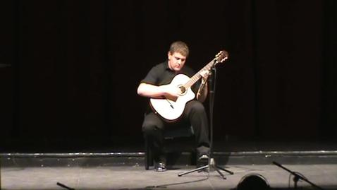 Thumbnail for entry Tony Agular Recital 2011