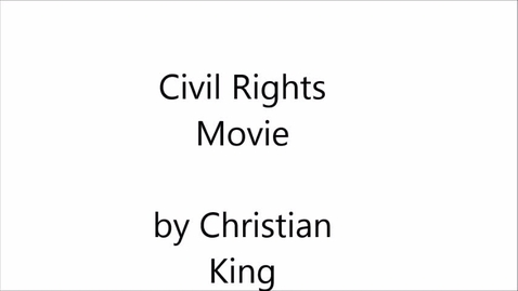 Thumbnail for entry civil rights