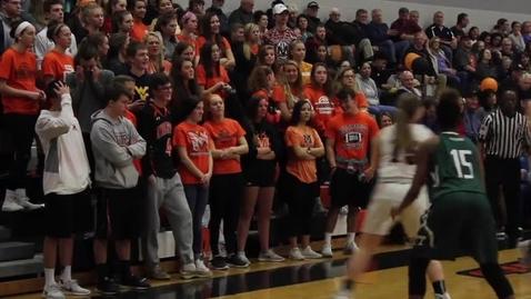 Thumbnail for entry Highlights: Varsity Girl's Basketball 02.16.18