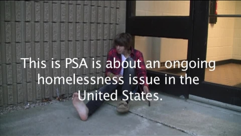 Thumbnail for entry Homeless In the U.S.A