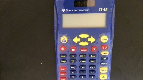 Thumbnail for entry Fraction Calculator Tips.mp4