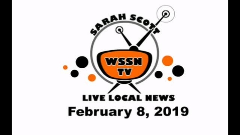 Thumbnail for entry WSSN News Feb 8, 2019
