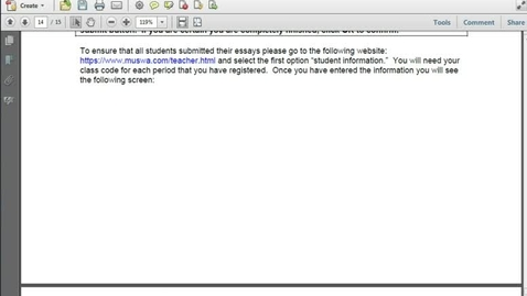 Thumbnail for entry Commenting and Markup in Acrobat 10