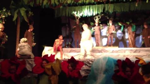 Thumbnail for entry Baloo Shows Mowgli How to Growl