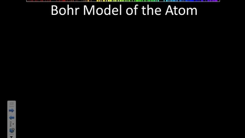 Thumbnail for entry Stephens Chemistry: 5.2 Quantum Model of the atom (10-7-13)