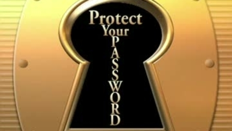 Thumbnail for entry Protect Your Password