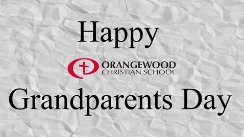 Thumbnail for entry OCS Grandparent's Day 2021