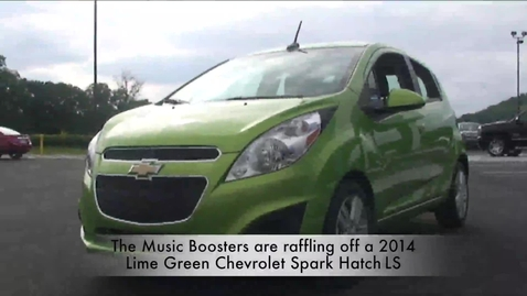 Thumbnail for entry Harrison Music Boosters Car Raffle Commercial