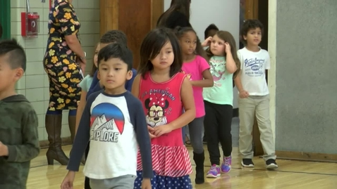 Thumbnail for entry  Backpacks  Donated to Snug Harbor Elementary