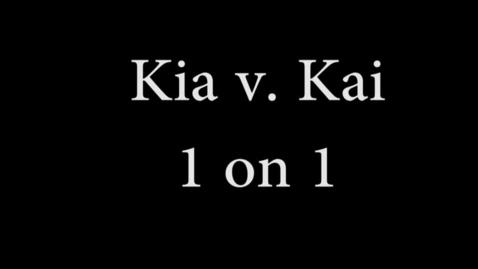 Thumbnail for entry Kia v Kai - WSCN (Sem 2 2017)