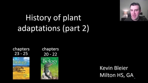 Thumbnail for entry Plant evolutionary history (part 2 of 2)