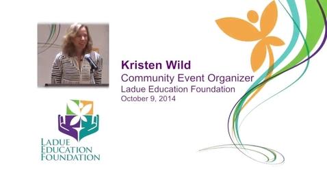 Thumbnail for entry Kristen Wild - LEF address