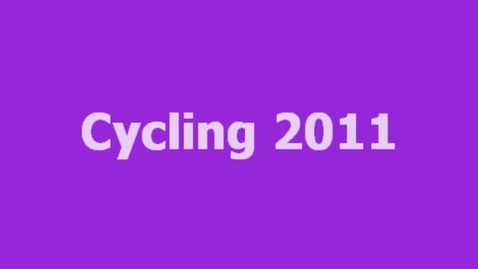 Thumbnail for entry Cycling 2011