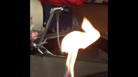 Thumbnail for entry Mr. Ed's Bunsen Burner Experiment